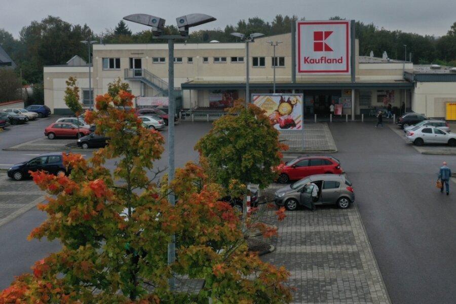 Die Diebe bedienten sich in mehreren Kaufland-Märkten in der Region. In der Filiale in Marienthal (Foto) schöpfte man schließlich Verdacht. Dort wurden die Kriminellen von der Polizei geschnappt.