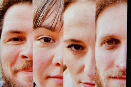 Robert Kapelle, Anna Bittner, Tonja Arina Gold und Peter Peniaška (v. l.) äußern sich auf der Facebook-Seite des Theaters Freiberg sehr differenziert zur bundesweiten Video-Aktion #allesdichtmachen.