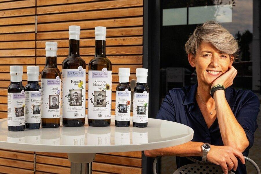 Judith Faller-Moog ist Ölmüllerin. Bio-Bäuerin und Ernährungswissenschaftlerin ist sie auch. Und clevere Geschäftsfrau: In die heimischen Öle fließen alle ihre Kompetenzen ein.