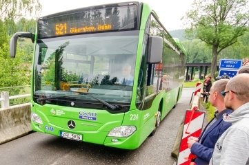 Seit 2016 verkehren Busse von Olbernhau nach Litvinov. Ab Samstag gibt es ein weiteres grenzüberschreitendes Angebot.