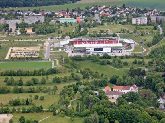 Die Brachflächen rund um die GGZ-Arena südlich der Sternenstraße sollen neugestaltet werden.