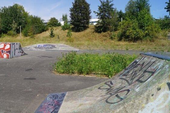 Im ehemaligen Kinder- und Jugendpark soll die Pumptrack-Anlage gebaut werden.