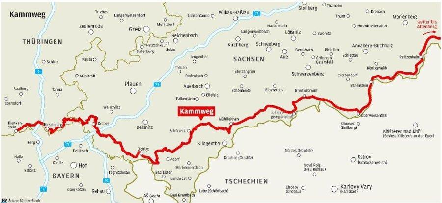 Serie: Wanderroute Kammweg