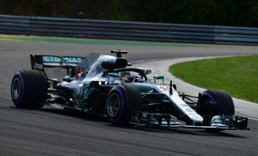 Weltmeister Lewis Hamilton liegt weiterhin in Führung