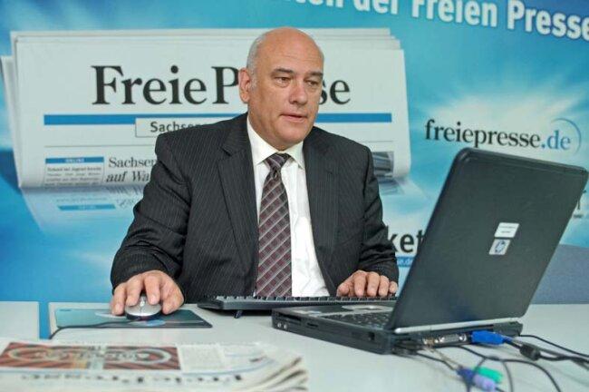 Zu Gast zum Wahl-Chat: Thomas Jurk, Spitzenkandidat der SPD bei der Landtagswahl.