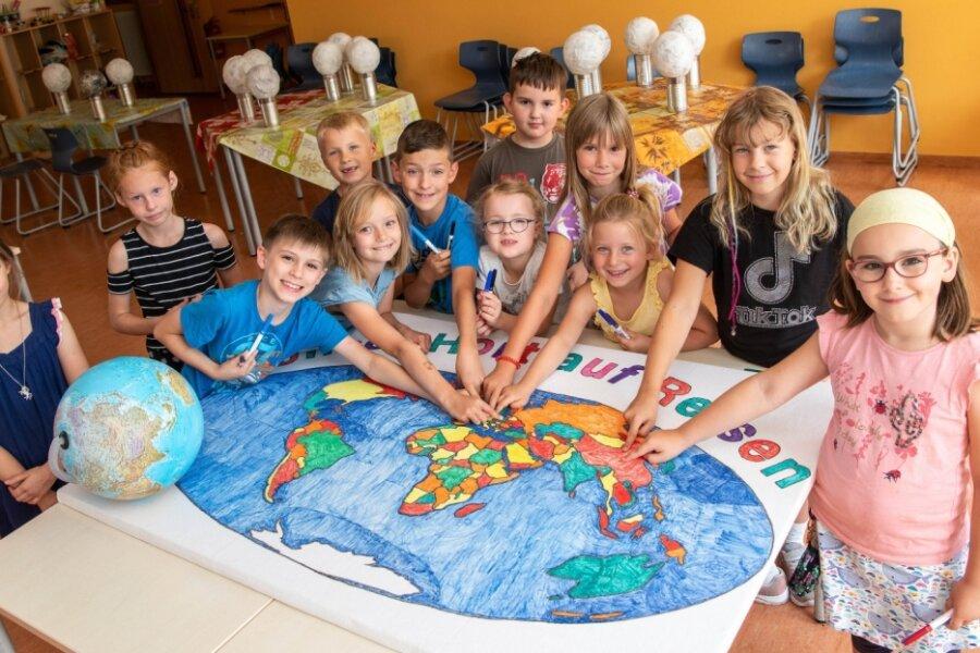 """Ferienkinder """"reisen"""" rund um die Welt"""
