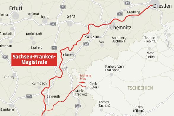Bahnlinie Hof-Nürnberg: Neue Argumente für Elektrifizierung