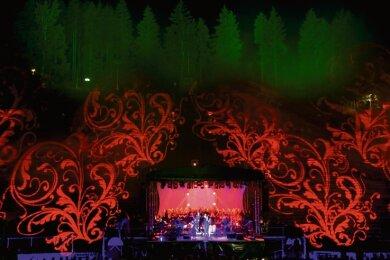 """Ein multimediales Erlebnis der besonderen Art wartet am 21. August mit """"Colors of nature"""" auf Besucher der Waldbühne Schwarzenberg."""