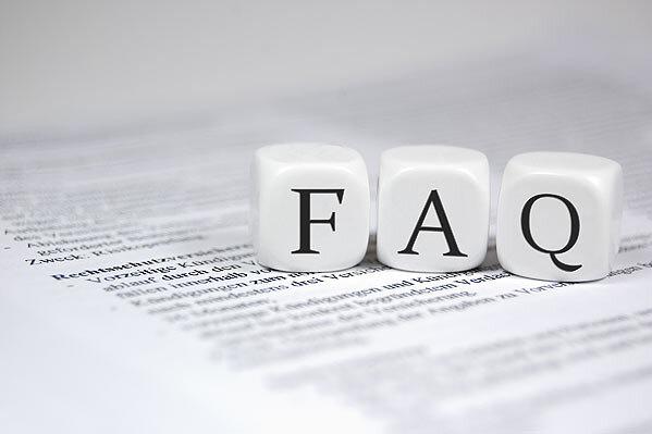 Registrierung: FAQ