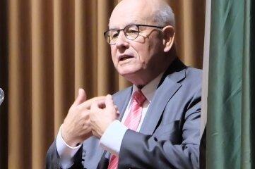 Volker Kauder (CDU) war als Festredner zu Gast.