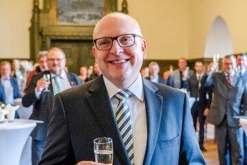 Oberbürgermeister Sven Schulze hat seinen 50. Geburtstag gefeiert.