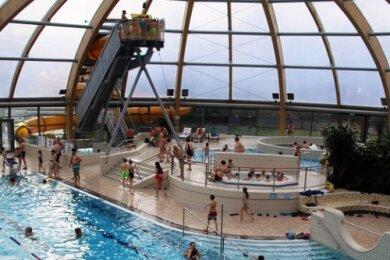 399 Badegäste haben in der ersten Juliwoche das Hallenbad des Freiberger Johannisbades besucht.