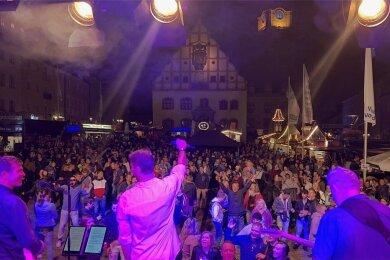 """Keine Fete wie üblich: Das Stadtfest """"Plauener Frühling"""" muss coronabedingt auch 2021 abgesagt werden."""