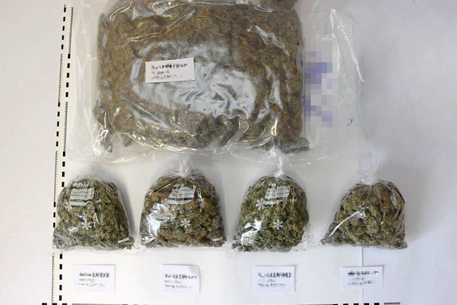 Polizei stellt fast vier Kilogramm Drogen in Chemnitz sicher
