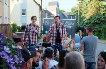 Gefeiert wurde am Wochenende im Anker in Oelsnitz.