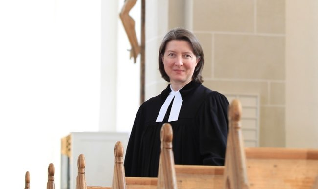 Vogtlands Superintendentin Ulrike Weyer.