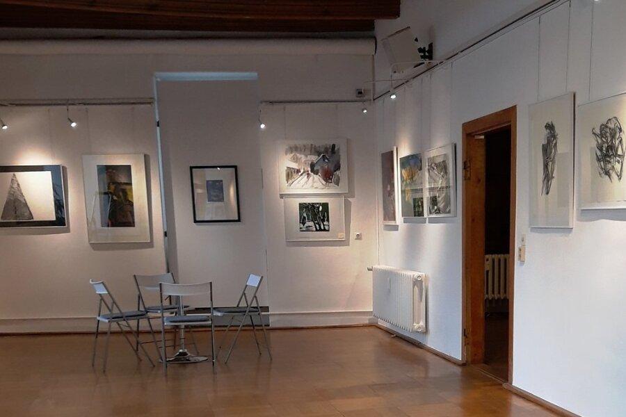"""Blick in die Galerie """"Art Gluchowe"""" in Glauchau. Sie bleibt vorerst geschlossen."""