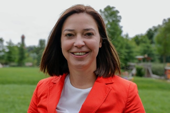 Yvonne Magwas (CDU) - Gewinnerin desDirektmandats im Vogtlandkreis