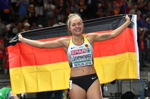Gina Lückenkemper gewann EM-Silber über 100 m