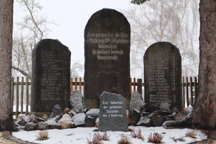 Das Kriegerdenkmal in Mannichswalde gibt noch Rätsel auf. Beispielsweise wann es aufgestellt wurde.