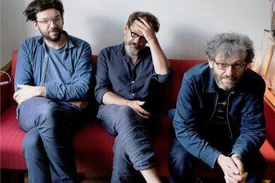 Lass mal knarzen: Christoph Beck, Micha Acher und Markus Acher (von links) sind The Notwist.