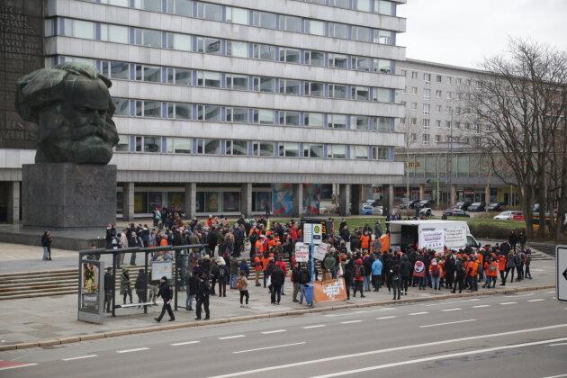 200 Menschen bei Demo gegen Rechtsextremismus