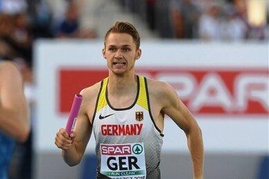 Marvin Schlegel war im vergangenen Jahr der schnellste Deutsche über die Stadionrunde, ebenso wie ...
