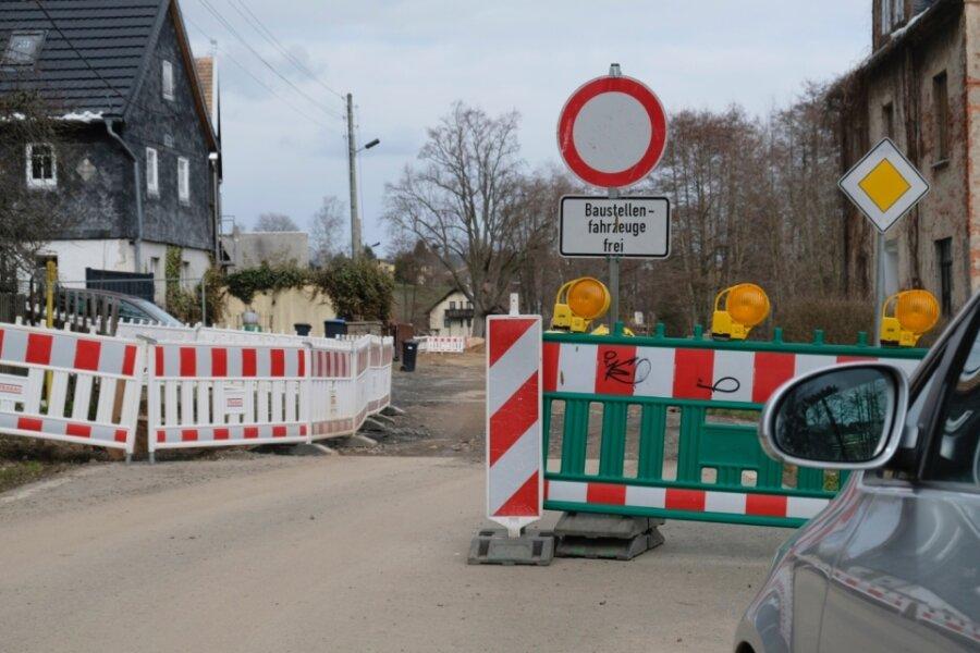 Straßenbau kommt voran