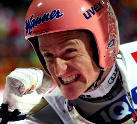 Weltmeister! Severin Freund holt Gold auf der Großschanze.