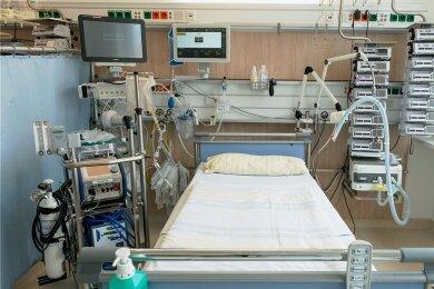 Insgesamt stehen in Sachsens Krankenhäusern 1622 Intensivbetten zur Verfügung, 1334 davon sind derzeit belegt.