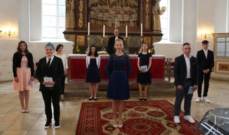 Auftakt zu Konfirmationen in St. Georgen