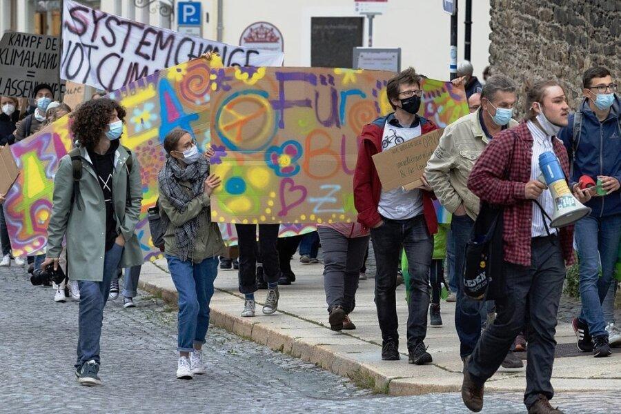 Fridays for Future: Rund 100 Teilnehmer in Annaberg-Buchholz
