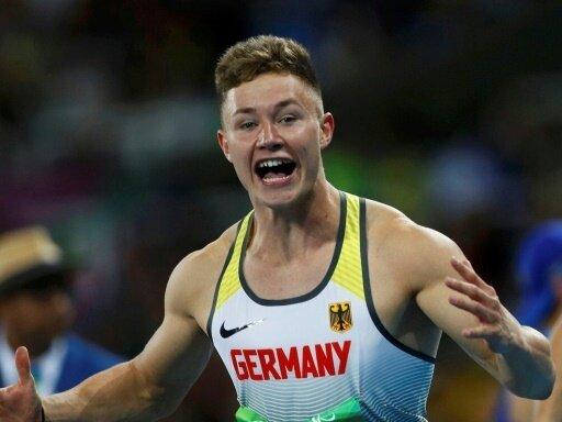 Deutsche 4x100-m-Staffel mit Felix Streng gewinnt Gold