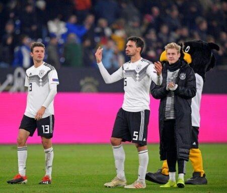 Deutschland droht eine schwere EM-Qualifikations-Gruppe