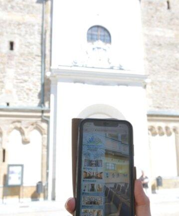 Neu: digitaler Rundgang durch die Freiberger Nikolaikirche.