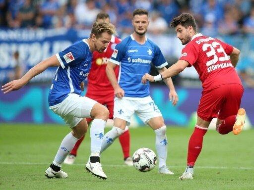 Der MSV geht bei Darmstadt 98 mit 0:3 unter