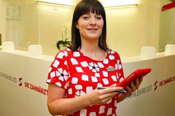 Die 27-jährige Veronika Schulze ist Fachwirtin für Gesundheits- und Sozialwesen.