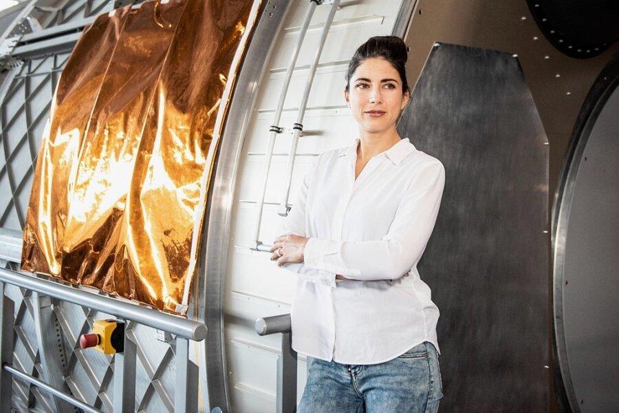 Physikerin und Trainerin Laura Winterling hat in der Raumfahrt gearbeitet, heute will sie auch andere Menschen motivieren, Träume umzusetzen.