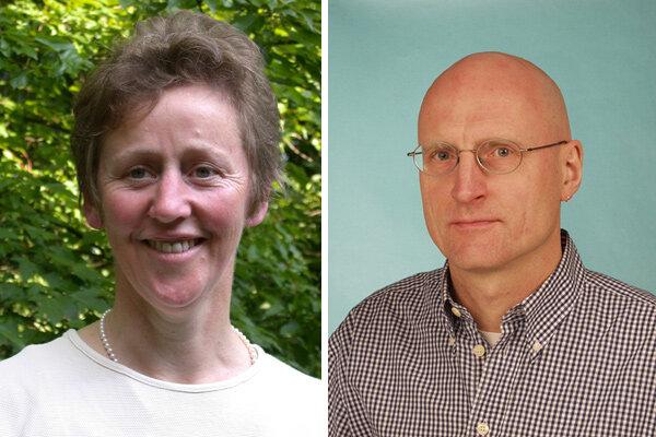 Brigitte Ganse und Klaus Koldin, beide von der Bundeszentrale für gesundheitliche Aufklärung.