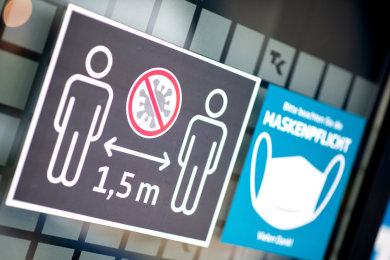 In großen Teilen Sachsens werden ab Dienstag Ausgangsbeschränkungen eingeführt.