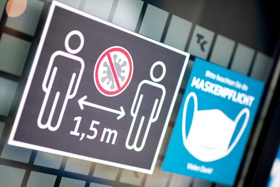 Corona-Lage in Sachsen: Ministerpräsidenten beraten mit der Kanzlerin über weiteren Kurs