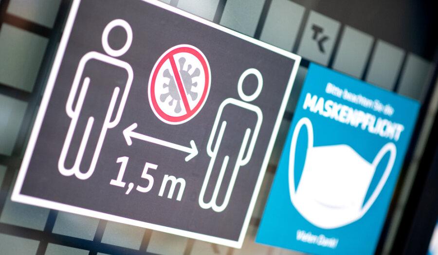 Die Corona-Regeln in der Stadt Chemnitz werden gelockert.