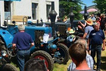 Beim 22. Traktorentreffen 2019 in Berbersdorf hatte es mit 233 Teilnehmern eine Rekordbeteiligung gegeben.