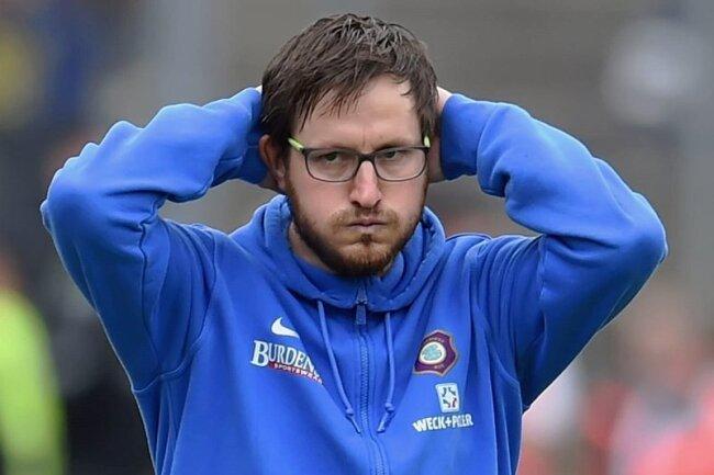 Keine Hilfe vom DFB: FCE-Chefcoach Hannes Drews und die Auer müssen in die Relegation.
