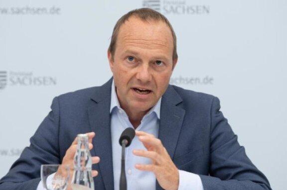 Wolfram Günther (Bündnis90/Die Grünen), Umweltminister von Sachsen.