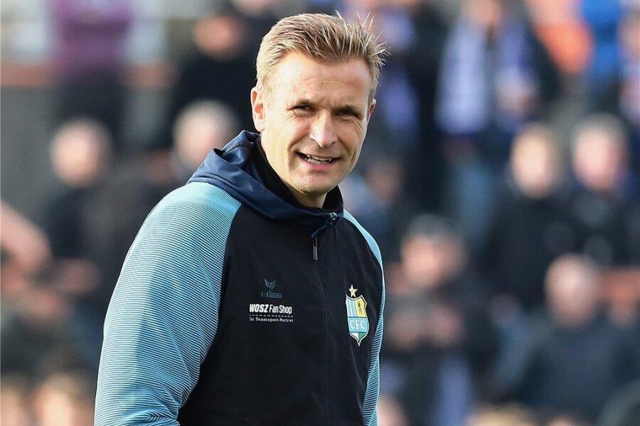 Seit Januar ist David Bergner Cheftrainer beim CFC. Nach dem Abstieg ist er mit dem Team nun auf dem Weg zurück in die 3. Liga.