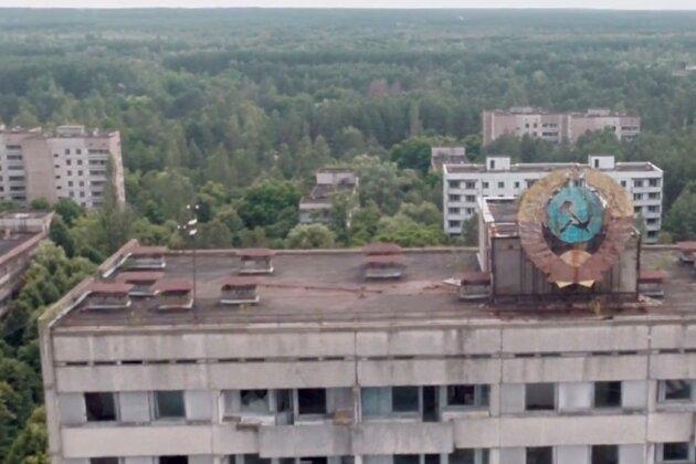 Netzfund: Drohnenflug über die Todes-Zone von Tschernobyl