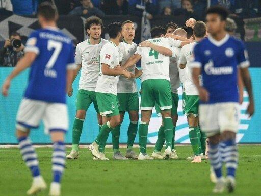 Bundesliga: Werder Bremen holt drei Punkte auf Schalke