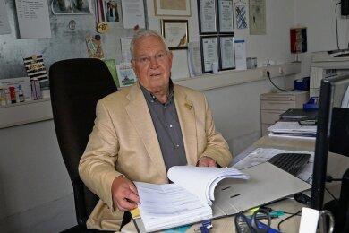 Der aus dem nordrhein-westfälischen Warendorf stammende Klaus Neumann ist Präsident des Glauchauer Lions-Club, der den Hochwasseropfern schnell helfen will.