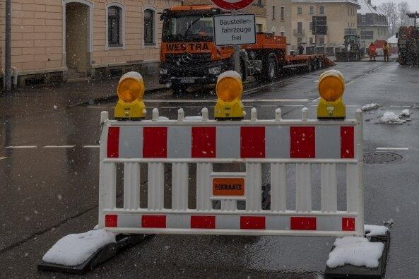 Verkehrsader bis Juni gesperrt